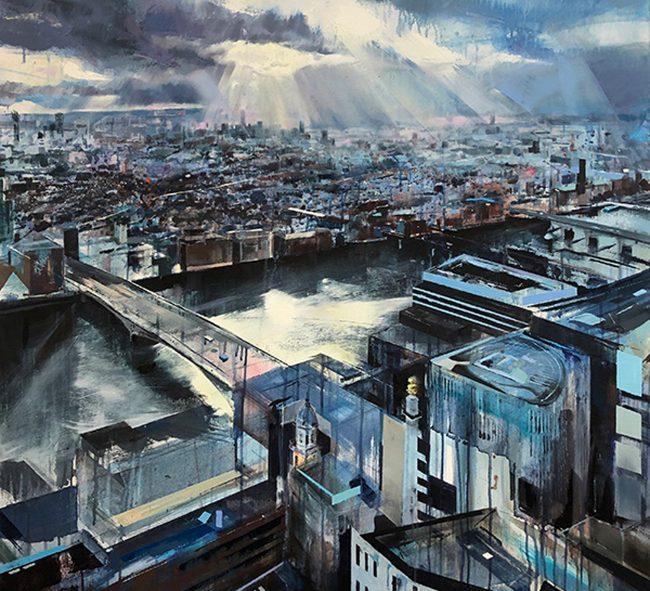 ArtStory AngelaWebb Sun on South London low res