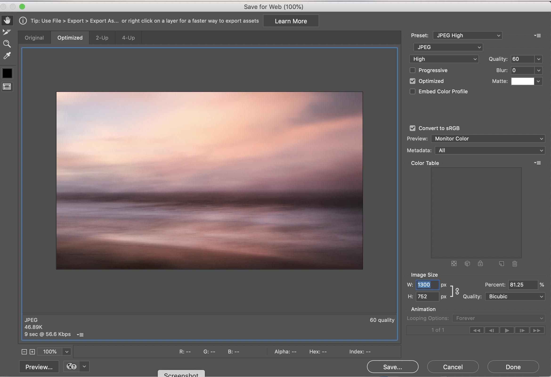 Matt Oliver - Landscape Photographer - studio screenshot