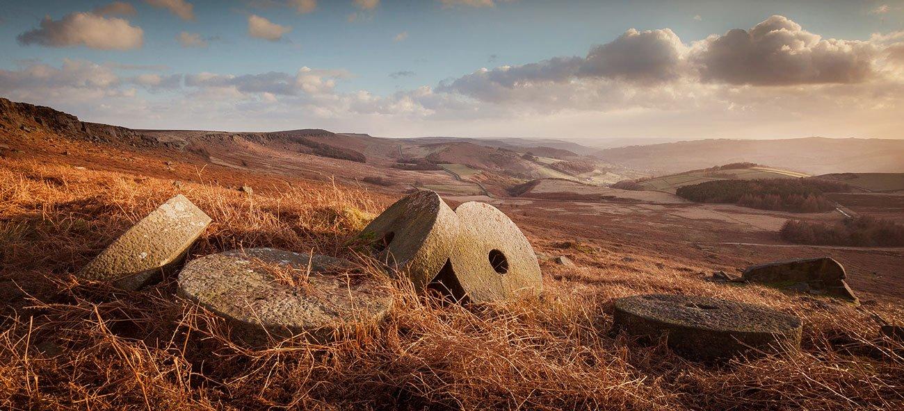 Matt Oliver - photographer - Stanage Millstones