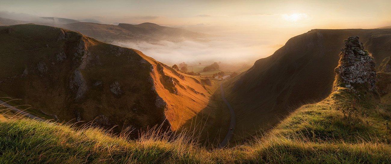 Matt Oliver - landscape photographer - Winnats Mist