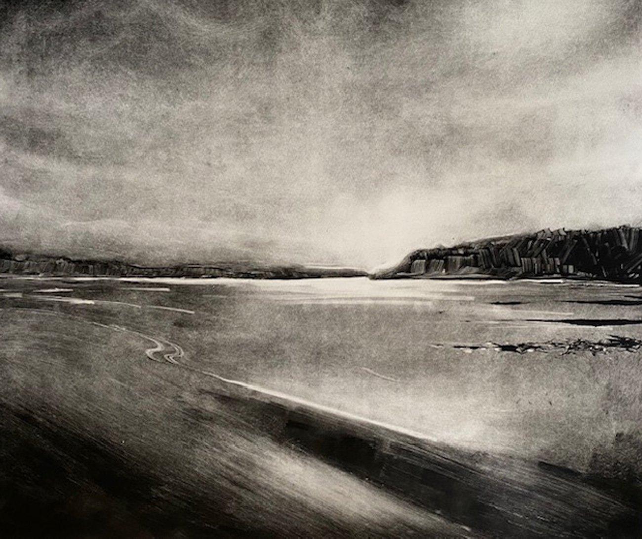 Rebecca Denton 'Low Tide South Beach Tenbyweb