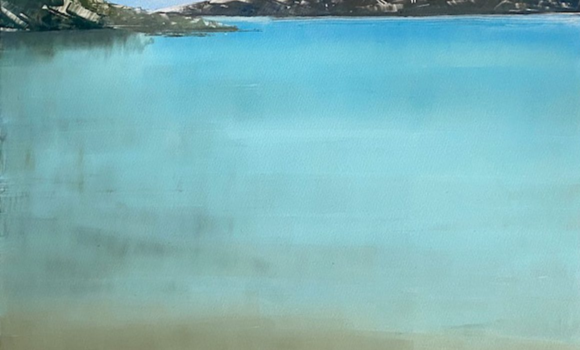Rebecca Denton Calm Sea at Noon web